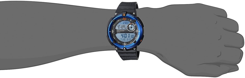 Casio Sgw-600h-2a Reloj Digital para Hombre Colección Outgear Caja De Resina Esfera Color Azul: Amazon.es: Relojes