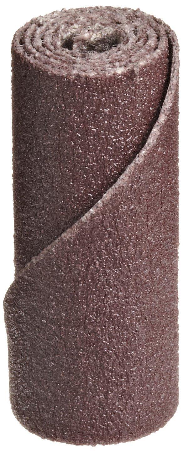 3M Cartridge Roll 341D, Straight, 3/8 Diameter x 1'' Length, P180 Grit (Pack of 100)