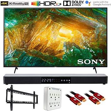 Sony XBR55X800H 4K Ultra HD TV LED (2020) con Barra de Sonido Deco Gear: Amazon.es: Electrónica