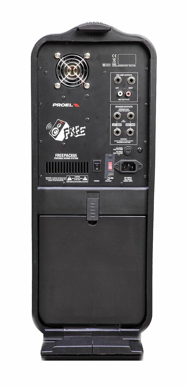 Proel FREEPACK65 Portable Sound System: Amazon.co.uk: Musical ...