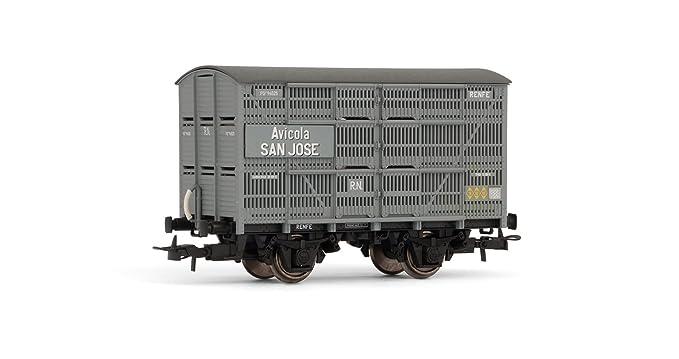 Electrotren - Vagón jaula Avícola SAN JOSE (Hornby E19007): Amazon ...
