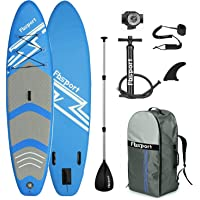 FBSPORT Premium Inflatable Stand Up Paddle Board (6 inches Thick) with SUP Accessories & Carry Bag | Wide Stance, Surf…