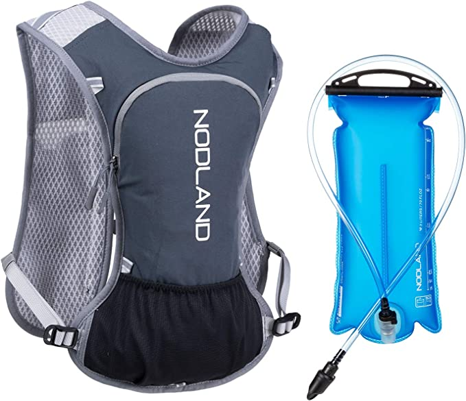 Latest Model Breathable Hydration Pack Water Bag Backpack Adjustable Locking Straps With Bladder Aqua Blue Splastle Lightweight Hydration Backpack 2L