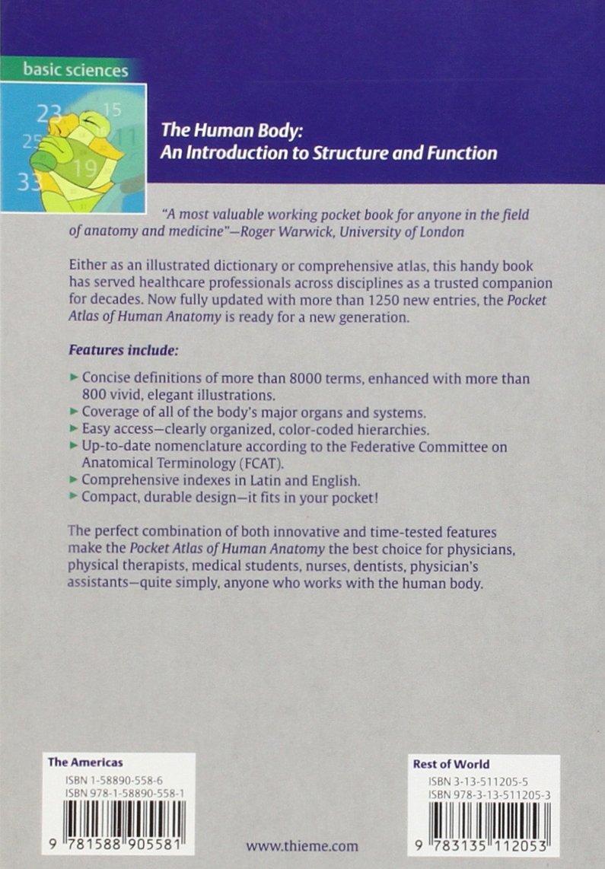 Pocket Atlas of Human Anatomy: Founded by Heinz Feneis: Amazon.co.uk ...