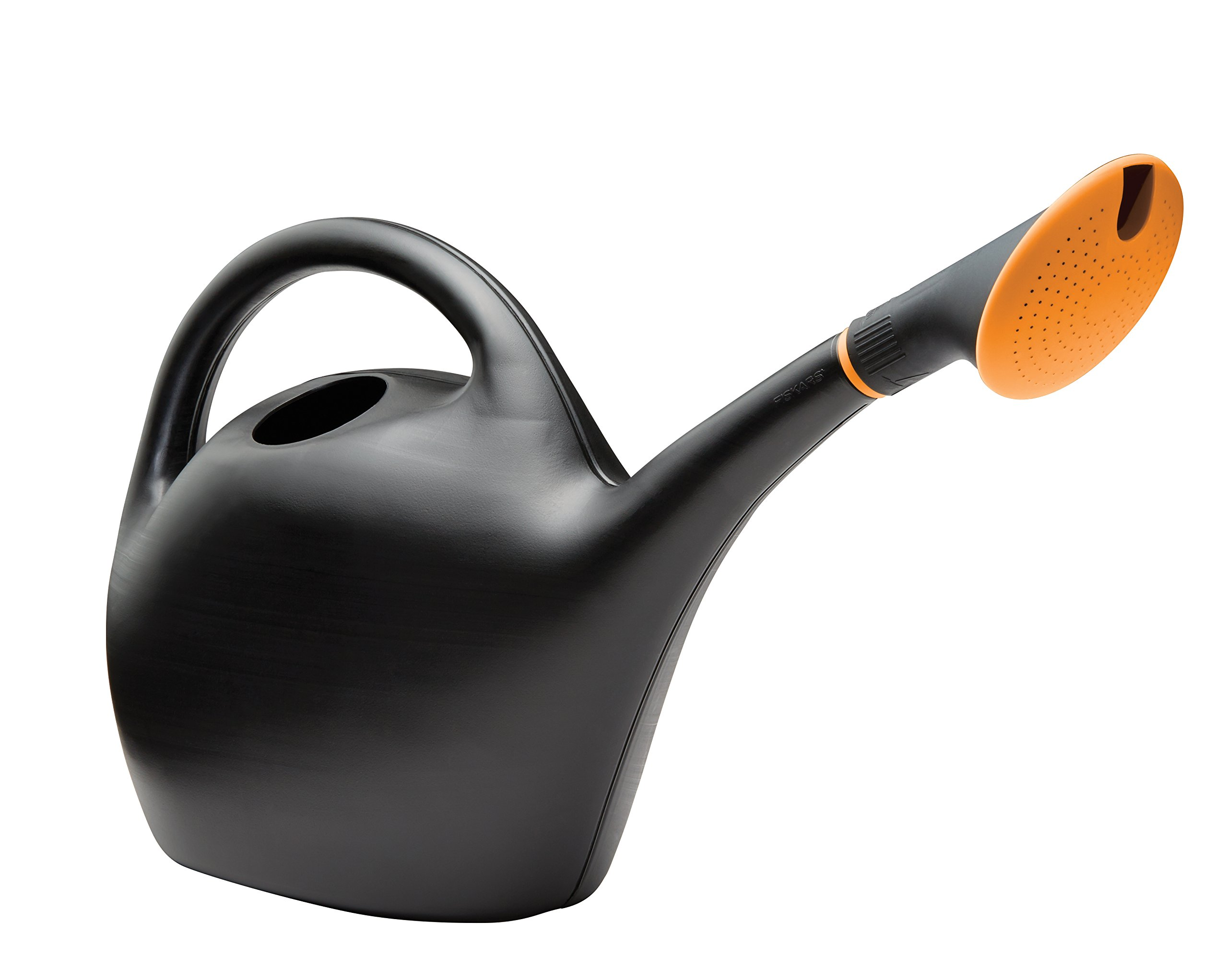 Bloem Easy Pour Watering Can, 1.6 Gallon, Black (487160-4004)