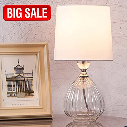 Sottae new design clear glass lamp livingroom bedroom bedside table sottae new design clear glass lamp livingroom bedroom bedside table lamps desk lamp with white aloadofball Image collections