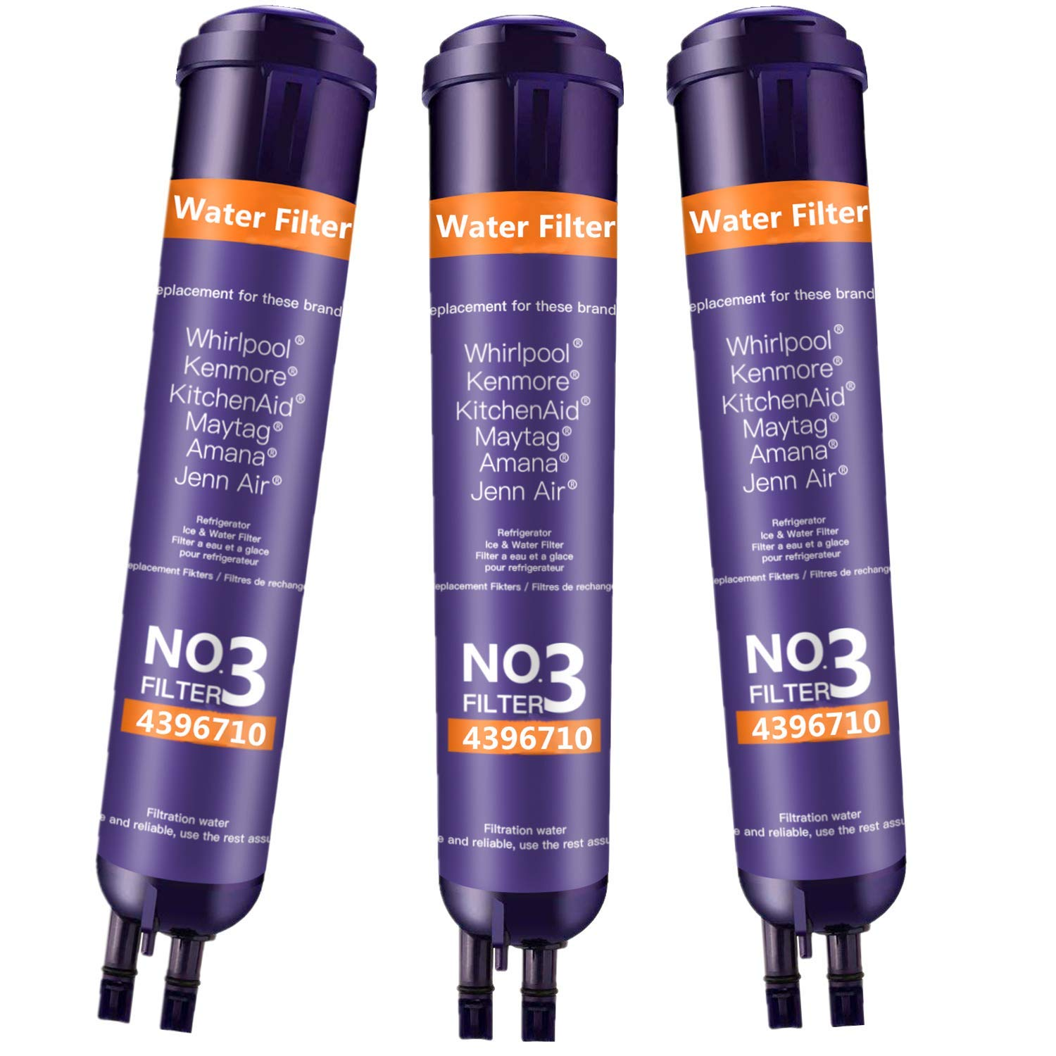 DOBY 46 9020 Water Filter Replacement for Ken_More 46 9083 Water Filter, 46-9030 Water Filter(Purple 3 Pack)