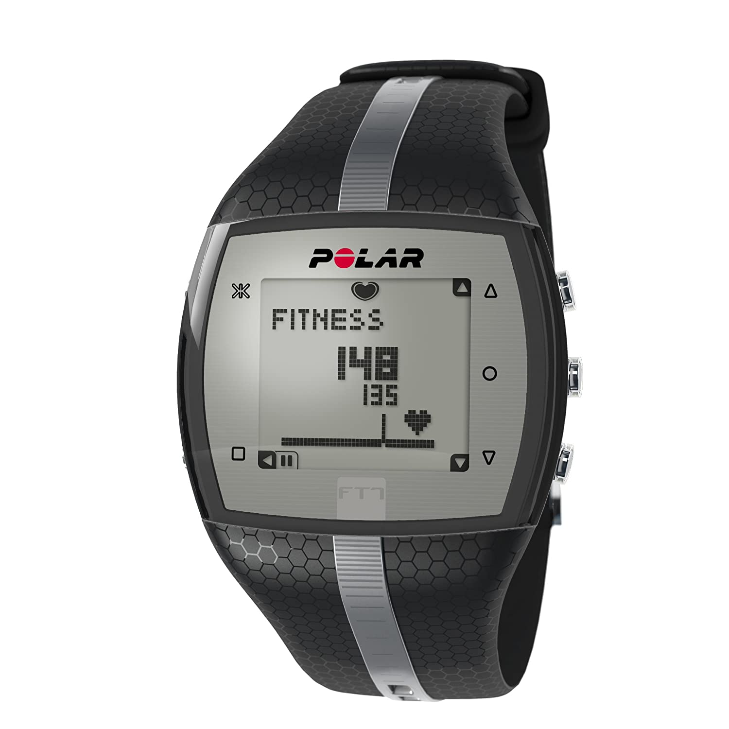 POLAR FT7 Heart Rate Monitor - Black/Silver