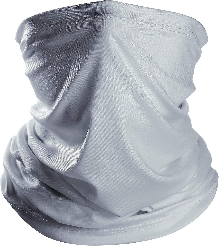 Ligart Cooling Gaiter Lightweight Thin Neck Gaiter Summer Protection from Sun, Surf, Wind and Moisture Face Mask Headwear Headband Bandana for Outdoor Sport