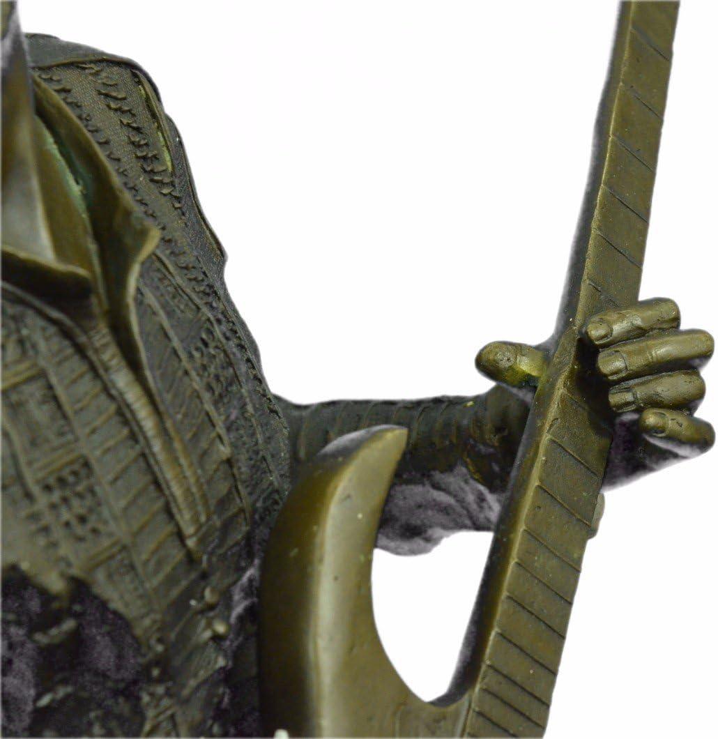 Hecho a mano Escultura de bronce europea Extra Large Jimmy Hendrix ...