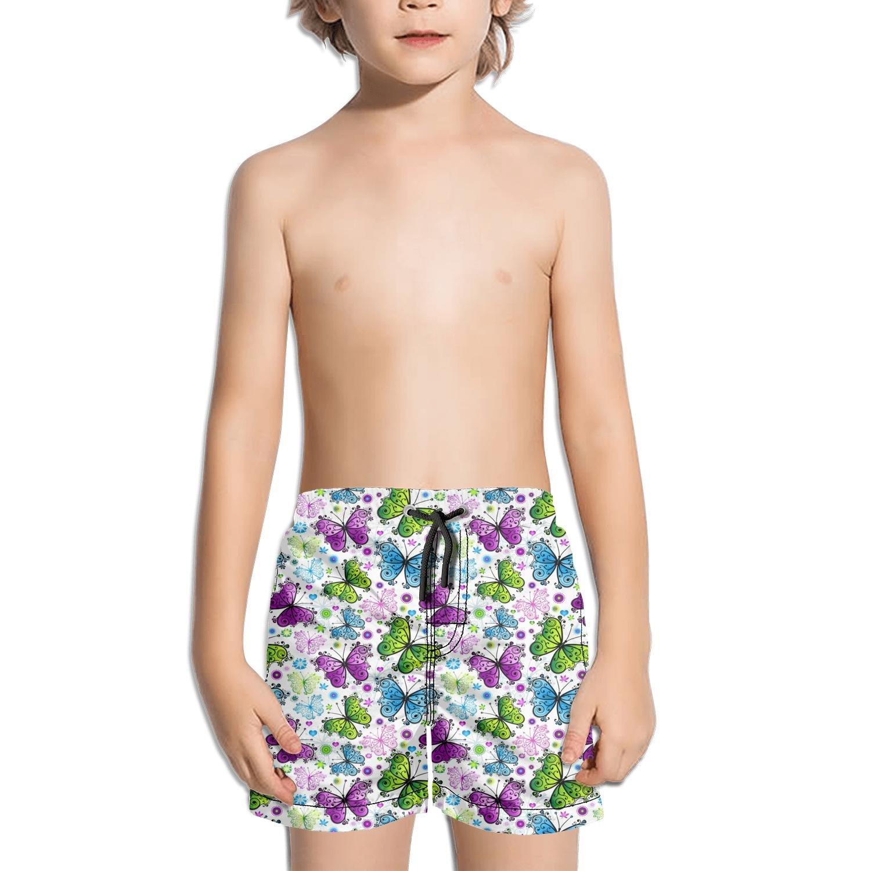 Websi Wihey Boy's Quick Dry Swim Trunks The Butterfly Fashione Shorts