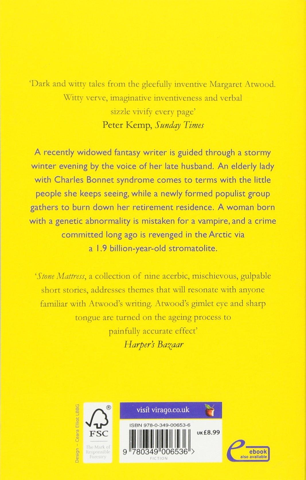 Stone Mattress: Nine Wicked Tales: Amazon: Margaret Atwood:  9780349006536: Books