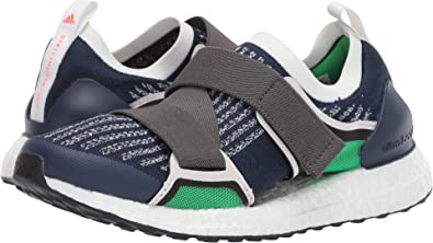 067076cf4c990 adidas by Stella McCartney Women s Ultraboost X Night Indigo Granite Vivid  Green 5 M