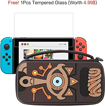 Funda Nintendo Switch, Nintendo Switch Funda de Transporte de ...