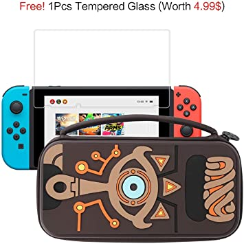 Funda Nintendo Switch, Nintendo Switch Funda de Transporte ...