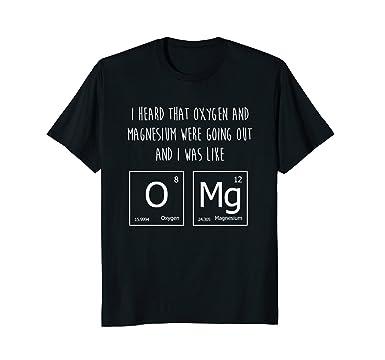 Amazon oxygen magnesium periodic table of elements pun shirt mens oxygen magnesium periodic table of elements pun shirt gift 2xl black urtaz Choice Image