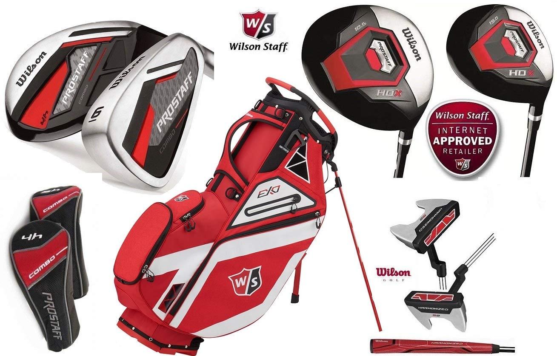 Wilson HDX Combo - Juego completo de golf de grafito con ...