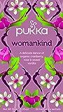 Pukka Womankind, Organic Herbal Tea with Shatavari, Cranberry & Rose Flower (4 Pack, 80 Tea bags)