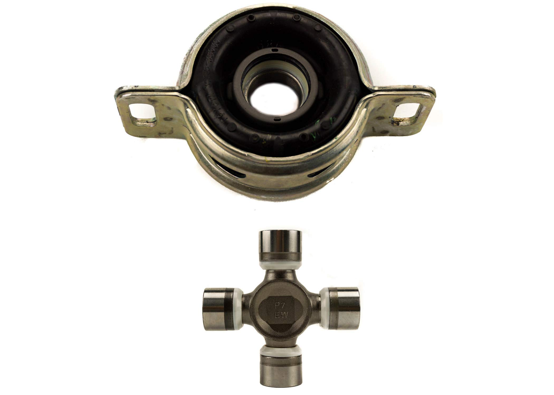 OEM Tacoma Driveshaft Center Support Kit: 37230-0K030 Center Bearing, 04371-0430 U-Joint