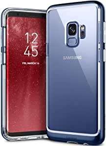 Samsung Galaxy S9 Case Cover, Caseology, Skyfall Series, Slim Fit Clear, Dual Layer, Blue Coral