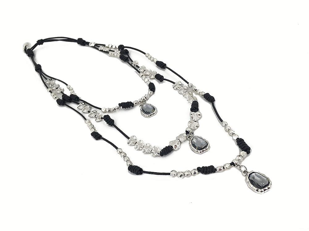 boho necklace boho necklace woman jewelry uno no de 50 jewelry leather necklace long necklace women jewelry