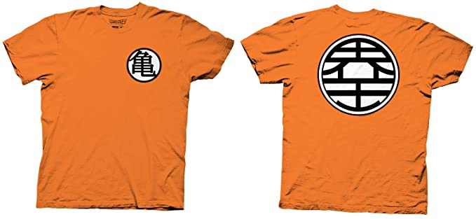 Ripple Junction Mens Dragon Ball Z Kame Symbol T Shirt Amazon