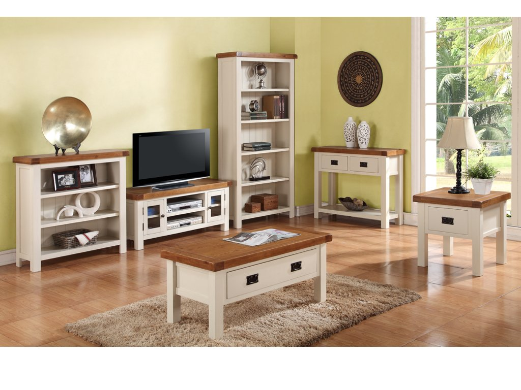 Oak Living Room Furniture Set