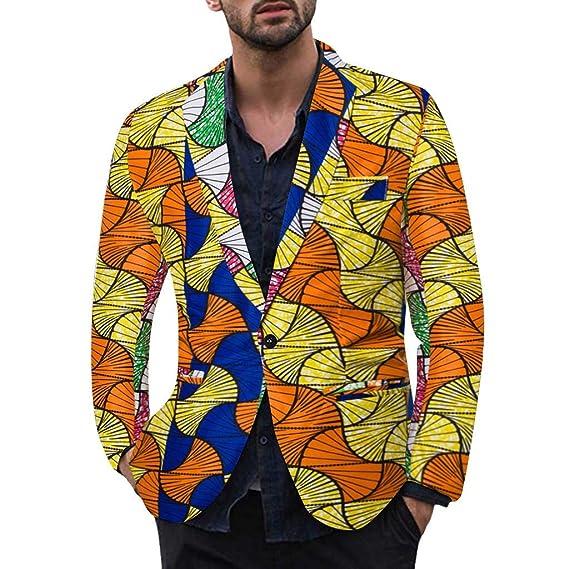 ACEBABY Traje Hombre Fiesta Abrigo Hombre Chaqueta Hombre Moda ...