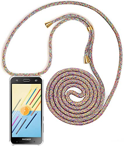 XCYYOO Carcasa de movil con Cuerda para Colgar Samsung Galaxy J5 ...