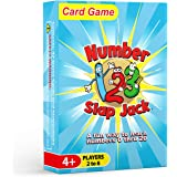 Number Slap Jack - a Fun Number Recognition and Counting Game – Kids learn Numbers 0-20 While Playing a Fun Card Game - Perfe