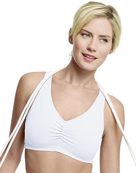 1dd9a064bc Hanes ComfortBlend ComfortFlex Fit® Pullover Bra 2-Pack at Amazon ...