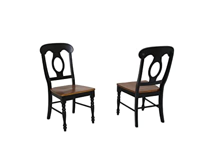 Astounding Amazon Com Sunset Trading Napoleon Dining Chair Set Of 2 Inzonedesignstudio Interior Chair Design Inzonedesignstudiocom