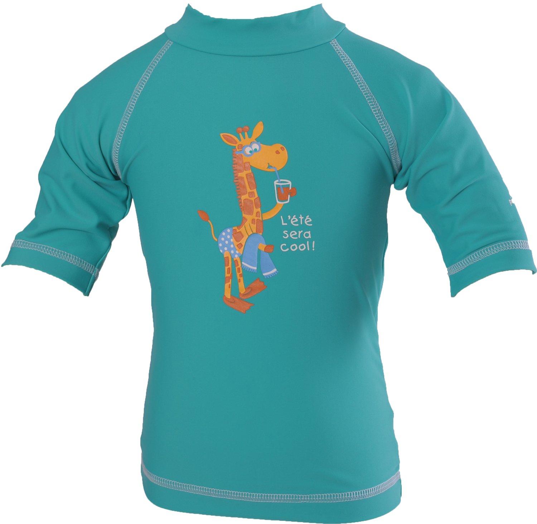 Piwapee–Top Lycra Anti UV UPF50+ Smeraldo Giraffa verde Verde smeraldo 3-6M 3700465376807