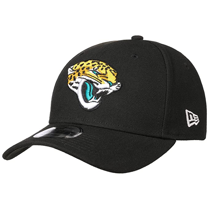 New Era Visiera Curvo NFL Jacksonville Jaguars The League 9Forty Nero   Oro    Bianca Regolabile Cappello da baseballs 55 - 61cm Dimensione Regolabile   ... 6eb1aa253626