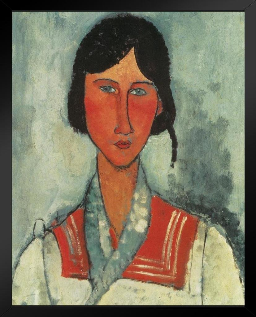 Amedeo Modigliani Gypsy Woman with Baby Art Print Mural Giant Poster 36x54 inch Poster Foundry 282110