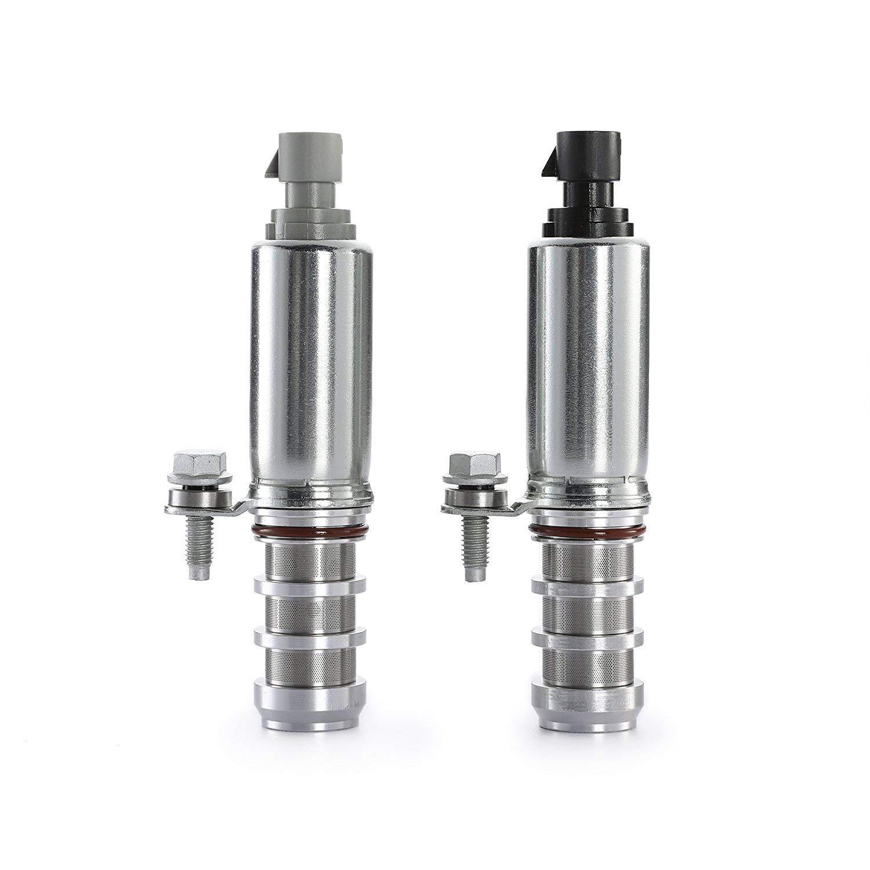 Folconauto Intake /& Exhaust Camshaft Position Actuator Solenoid Control Valve 12655420 12655421