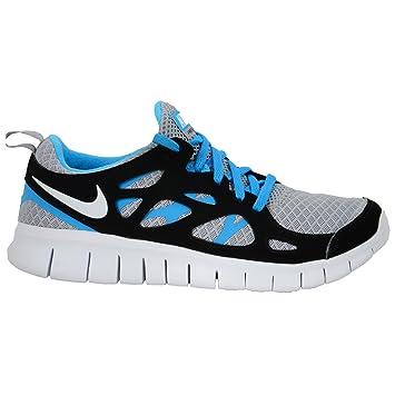 watch bbafb 8a93a Nike Free Run 2 (GS) (443742-019) grau - schwarz -
