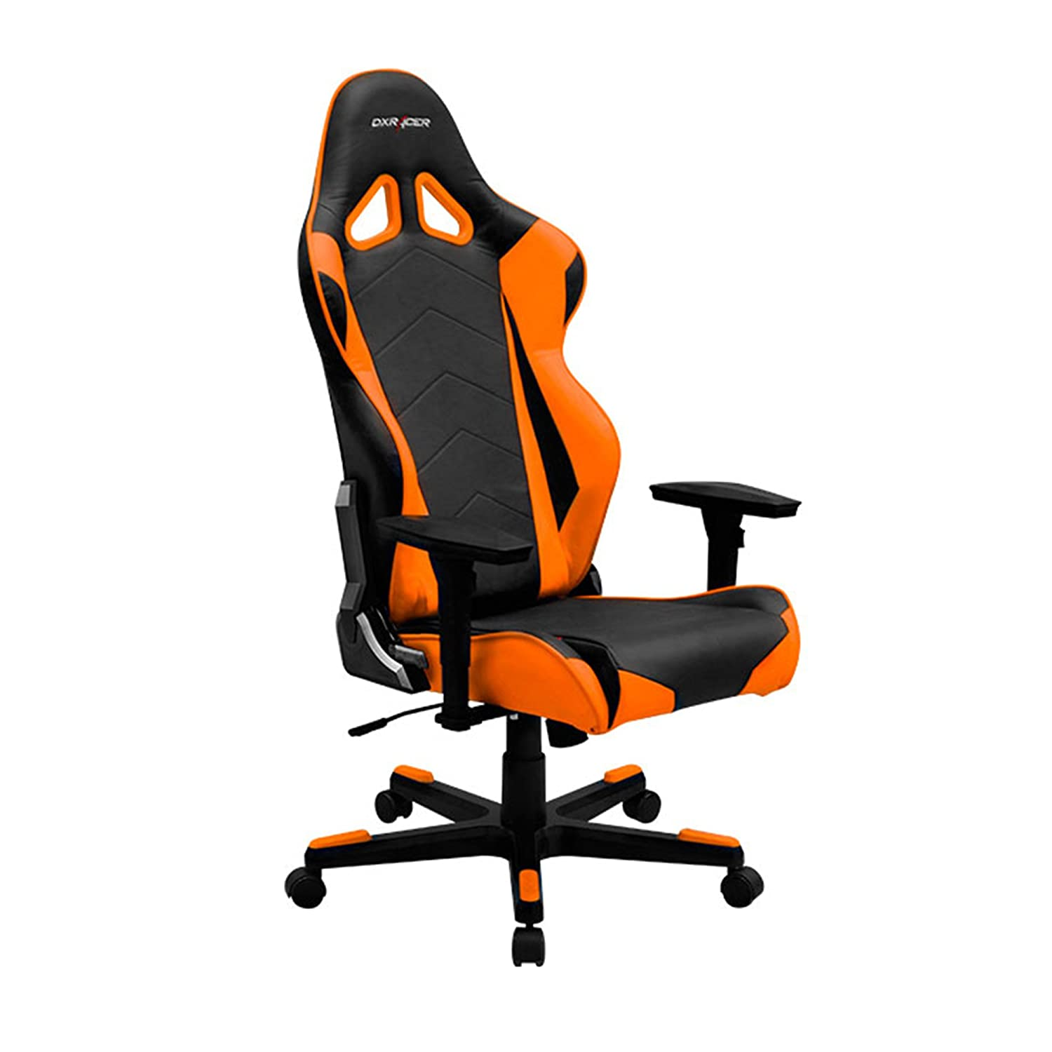 Charmant Amazon.com: DXRacer RE0/NO Black Orange Racing Bucket Seat Office Chair  Ergonomic With Lumbar Support (Orange): Kitchen U0026 Dining