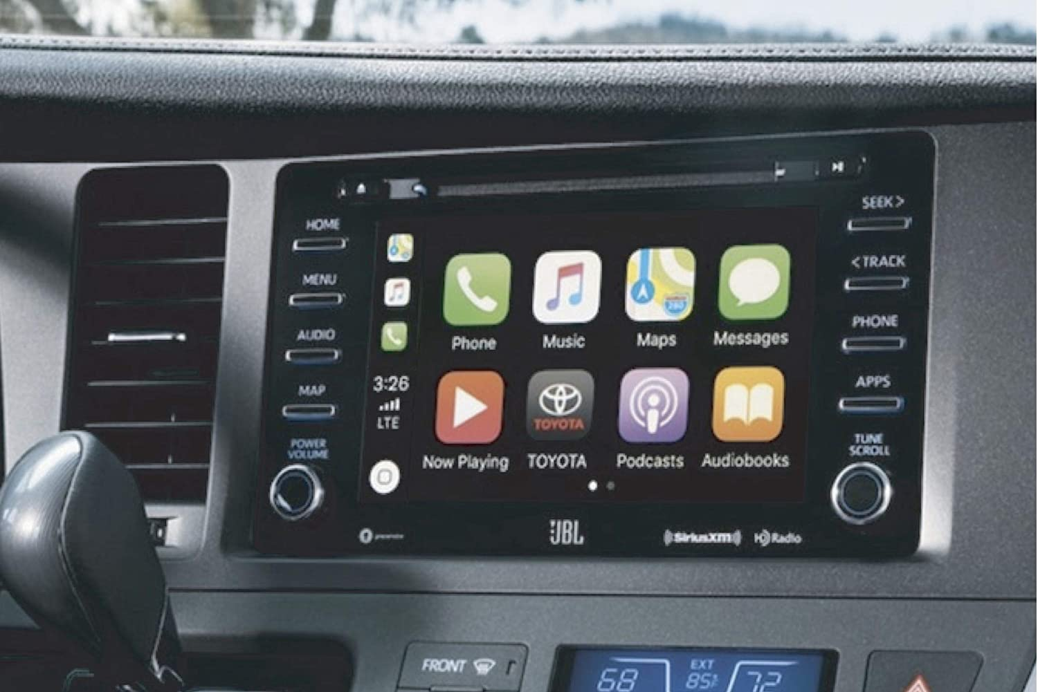 2014-2019 Car Play /& Android Auto Select Vehicles with Full Factory Touch Controls Factory Radio Integrated System for Toyota Compatible with: See Image on site Page.