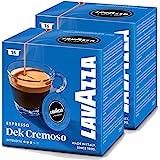 Lavazza Dek (Decaffeinated) Cremoso Modo Mio 16 Coffee Capsules (Pack of 2)