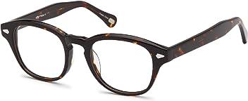 40545043524 Trendy Oval Glasses Frames Prescription Eyeglasses Rxable 47-21-140