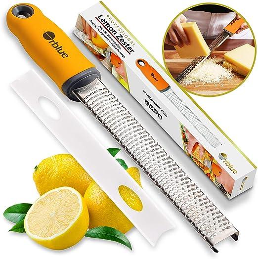 Stainless Steel Quality Citrus Lemon Orange Zester Grater Kitchen Utensil