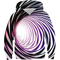 Unisex Fashion Hoodies 3D Printed Optical Illusion Hooded Casual Spring Autumn