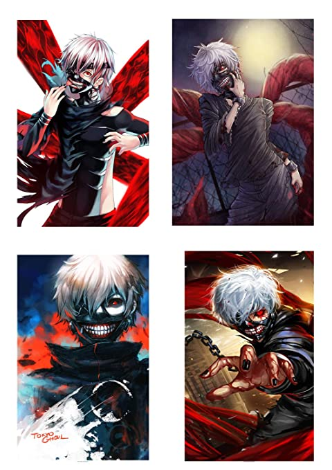 Tokyo Ghoul Manga Anime Large Poster Art Print