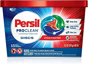 Persil Proclean Discs Laundry Detergent Stain Fighter, 15 Count