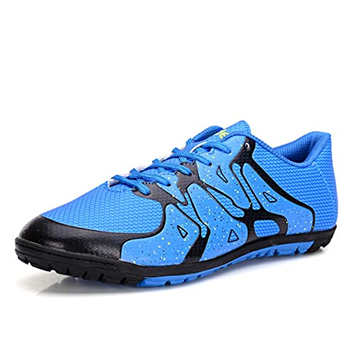762c7909c Men Soccer Shoes Kids Indoor Boy Outdoor Football Boots Girl Athletic Turf Mundial  Team Cleat Running Sports Lightweight Breathable Anti-Skid Damping Shoes ...