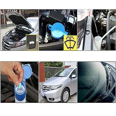 PovKeever Limpiador de limpiaparabrisas compacto y sólido para limpieza de coches: Amazon.es: Coche y moto