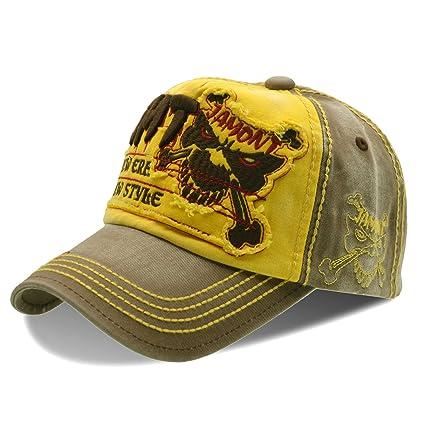 64138df5e6eb2 UPhitnis Moda Papá Sombreros Gorra de béisbol de algodón Unisex Gorras de  béisbol Ajustable con enérgicas