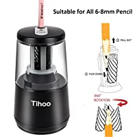 Aikotoo USB/Battery Powered 6-8mm Electric Pencil Sharpener for Kids and Teachers