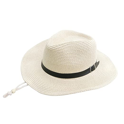 cd8a52d4e0a5b Image Unavailable. Image not available for. Color  Suppliesed Hat for Male  SummerFolding Western Cowboy Protection Sun Hat